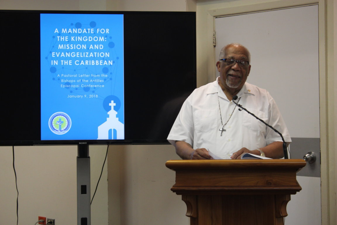 Press Launch: Pastoral Letter: A Mandate for the Kingdom: Mission and Evangelization in the Caribbean