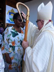 Bishop Llanos 'weds' St. John's - Basseterre
