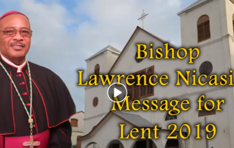 Bishop Lawrence Nicasio Lenten Message 2019