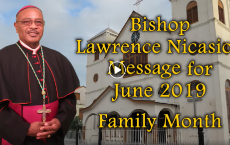 Bishop Lawrence Nicasio Message for June - Family Month
