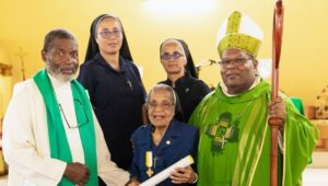Sr. Augustine Receives Benemerenti Medal