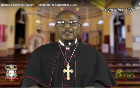 Bishop Lawrence Nicasio - Reflection for September 2020