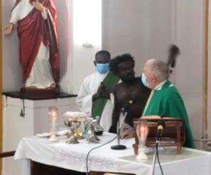 Bishop Alleyne Robbed During Mass