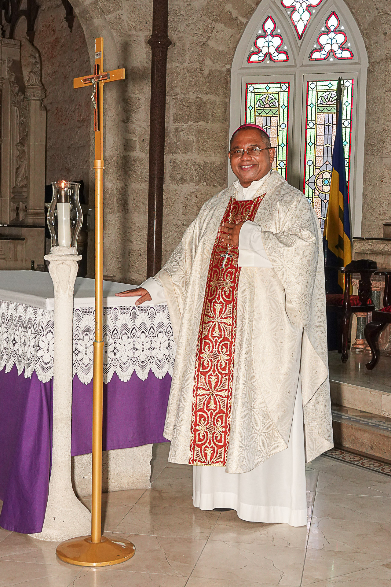 Fr. Neil Sebastian Scantlebury, the next bishop of the Catholic Diocese of Bridgetown!