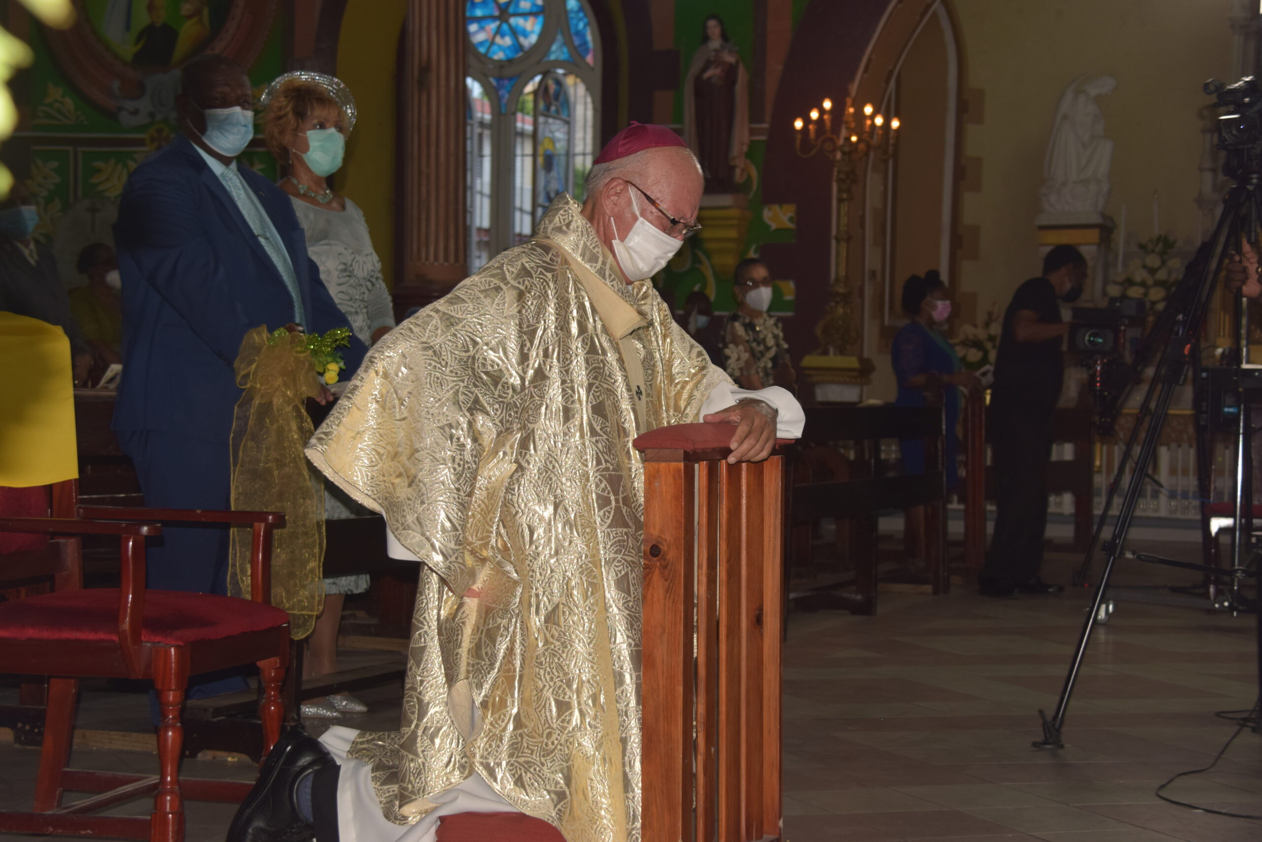Golden Jubilee Mass of Archbishop Robert Rivas